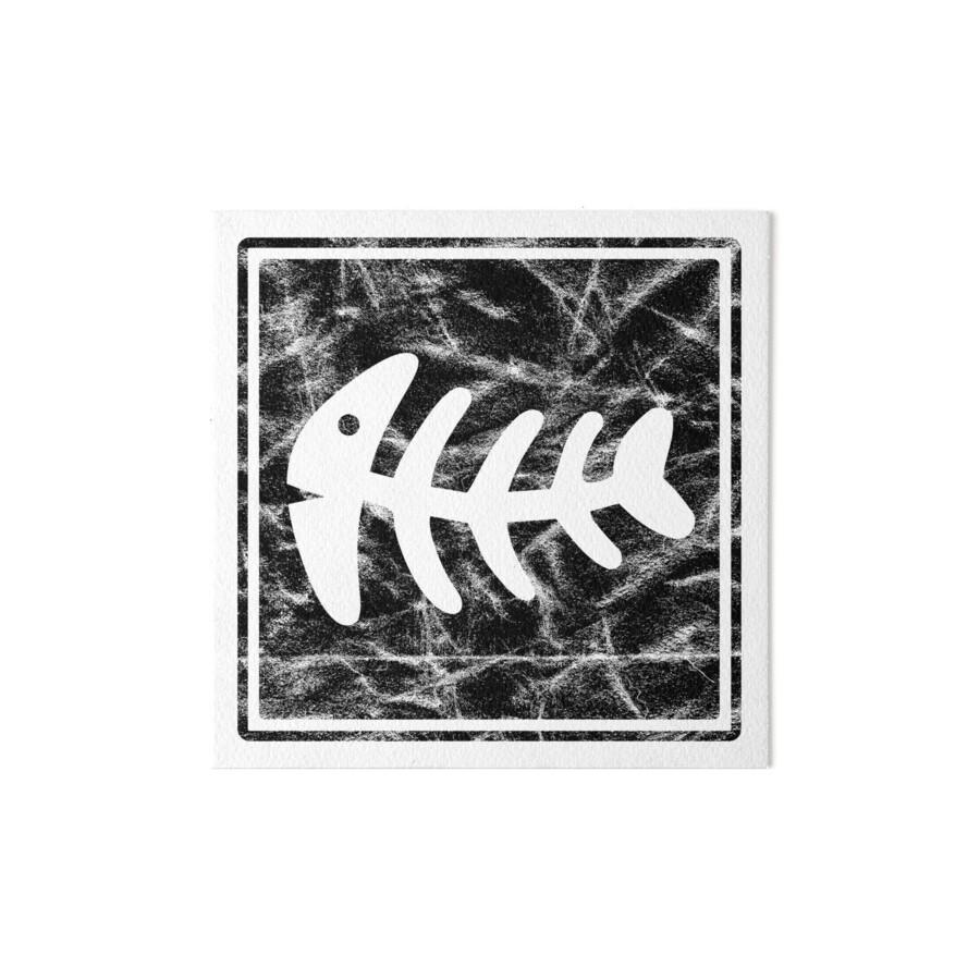 Láminas de exposición «Fish espina de pescado esqueleto de pescado ...