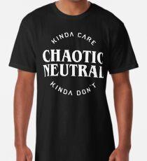 Chaotische, neutrale Ausrichtung Longshirt
