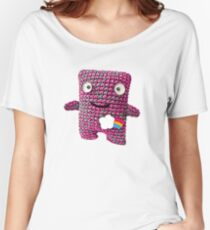 Wooly Robot Women's Relaxed Fit T-Shirt