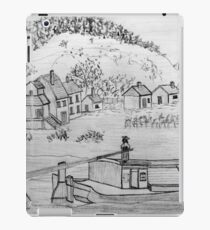 My pencil drawing of An Ancient Scene on the Danube iPad Case/Skin
