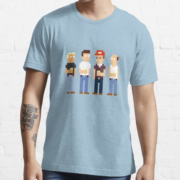 King of the Hill Pixel Art Essential T-Shirt