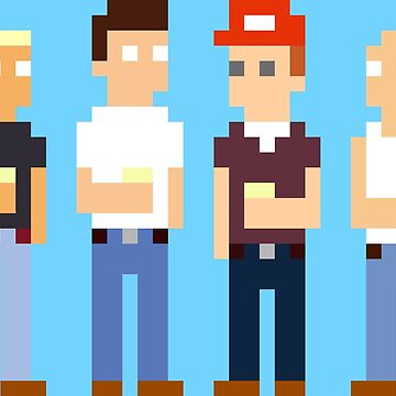 King of the Hill Pixel Art by Crampsy