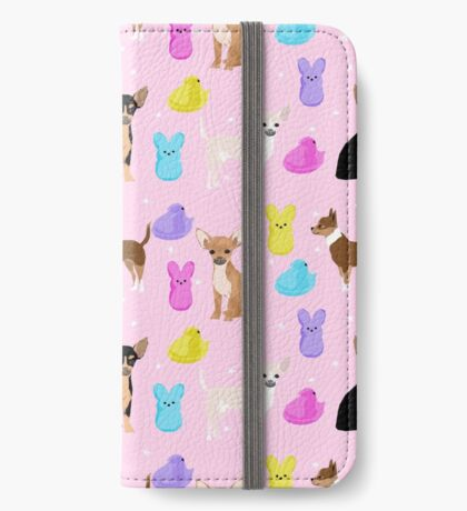 Chihuahua dog breed marshmallow peeps easter spring traditions cute dog breed gifts chihuahuas iPhone Wallet
