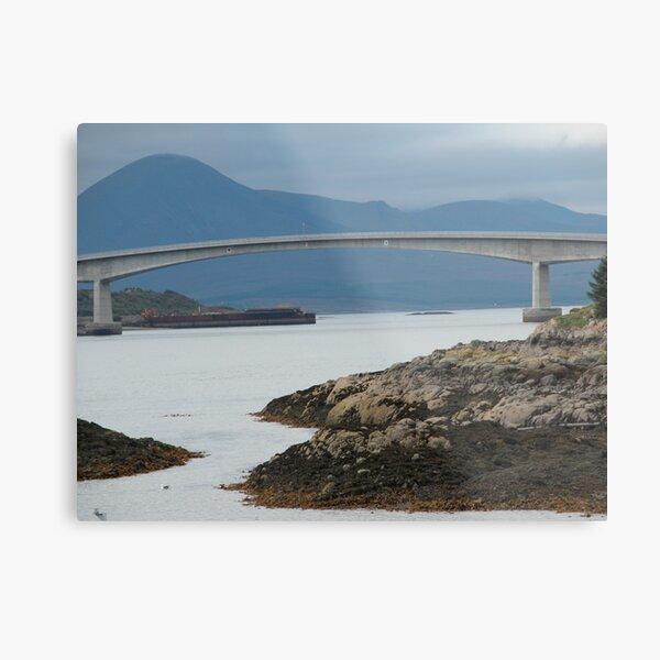 Bridge to Skye Metal Print