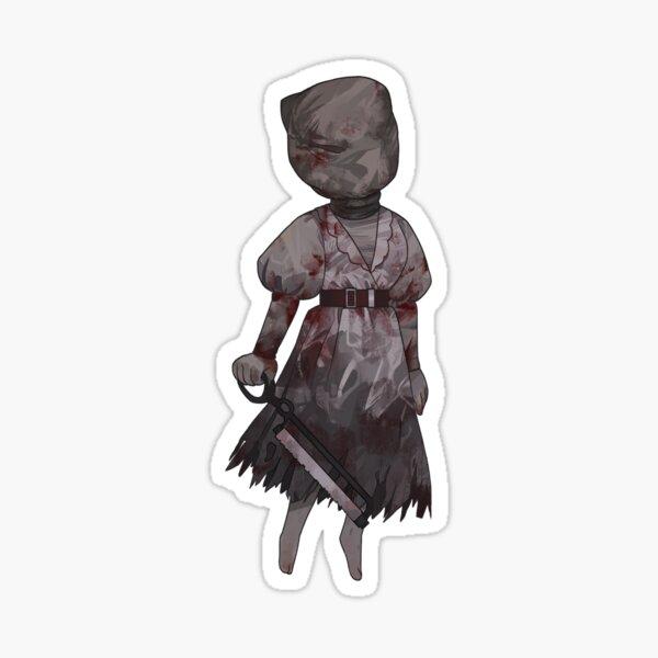 & # 39; Dead By Daylight & # 39; adhesivo - Enfermera Pegatina
