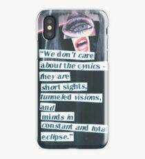 Cynical Eclipse iPhone Case