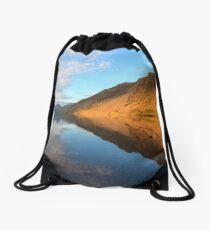 Golden Screes Drawstring Bag