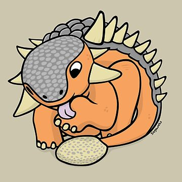 Cutiesaurs: Ankylosaurus  by siege103