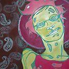 reflective zombie by Lacey  Eidem