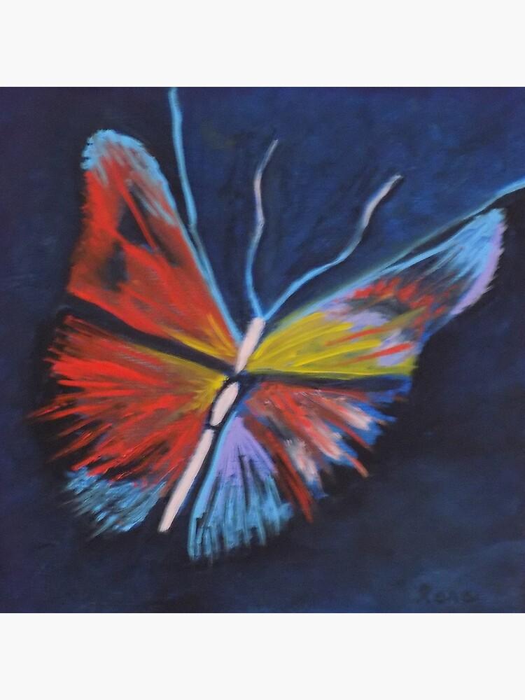 Neon Butterfly by irenebernhardt