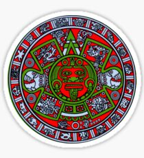 Ancient Mayan Calendar  Sticker