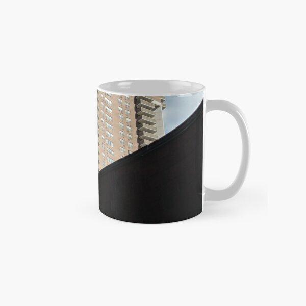 New York, Manhattan, Brooklyn, New York City, architecture, street, building, tree, car, pedestrians, day, night, nightlight, house, condominium,  Classic Mug