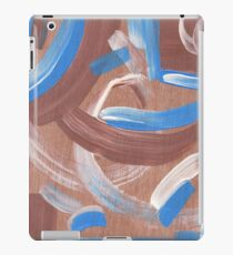 Falling Water Mid-Century Abstract Painting iPad Case/Skin