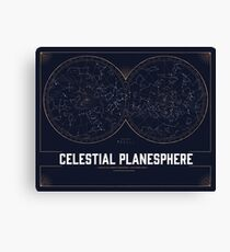 The Celestial Planesphere Canvas Print