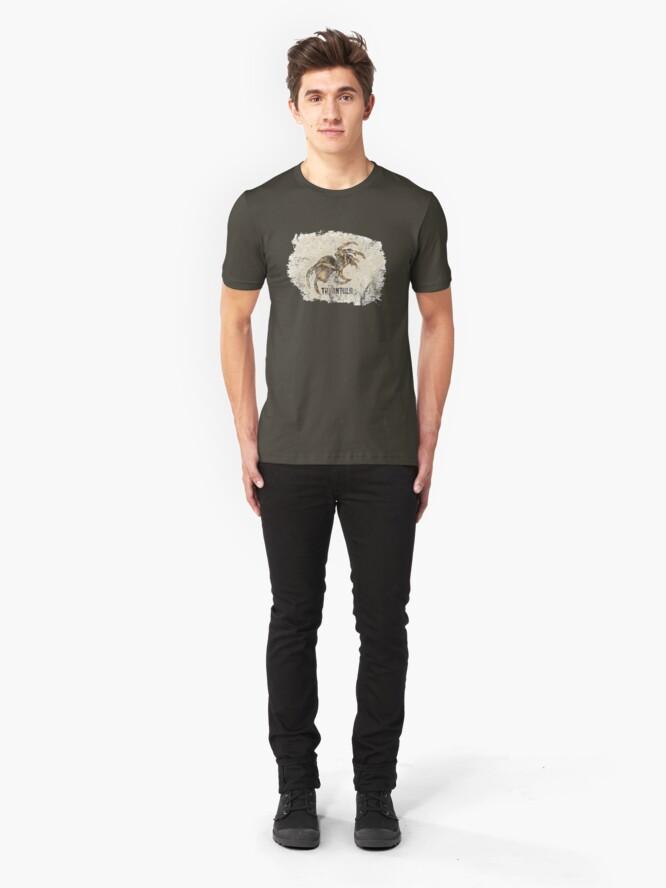 Alternate view of Tarantula Spider Lover Tarantula Pet Owner Vintage Arachnid Graphic Print Slim Fit T-Shirt