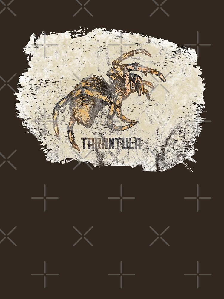 Tarantula Spider Lover Tarantula Pet Owner Vintage Arachnid Graphic Print by thespottydogg