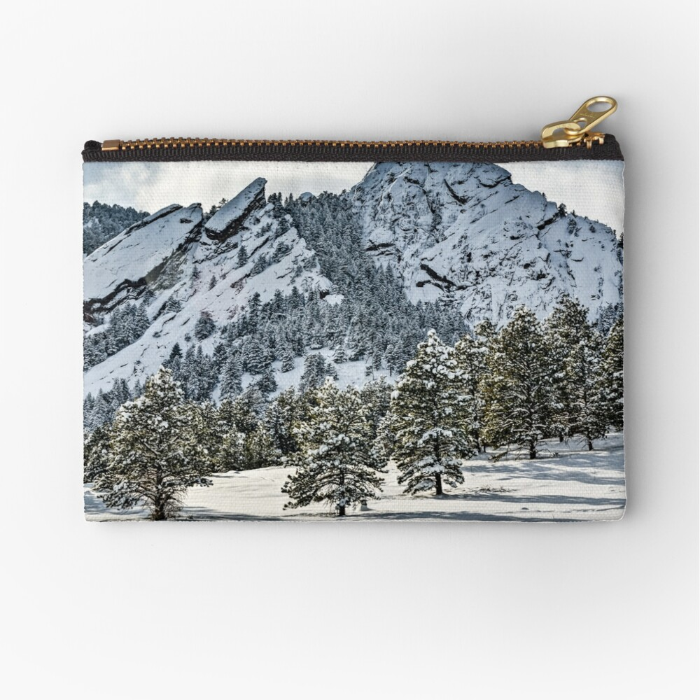The Might Flations From Bluebell Road Zipper Pouch