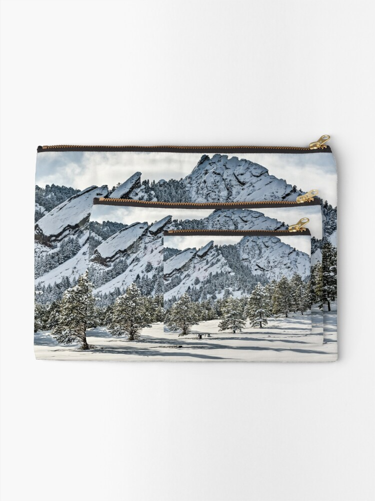 Alternate view of The Might Flations From Bluebell Road Zipper Pouch