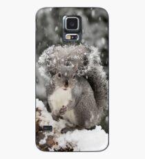 Snowy Day Gray Case/Skin for Samsung Galaxy