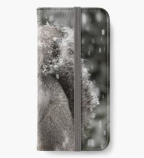 Snowy Day Gray iPhone Wallet/Case/Skin