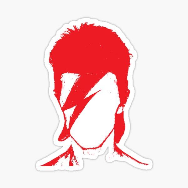 ROCK N ROLL STAR #RED Sticker
