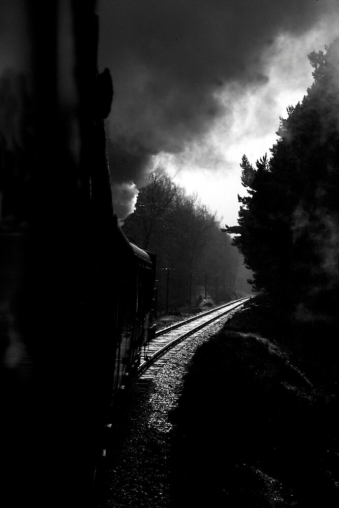 Puffing down the Line by photobymdavey