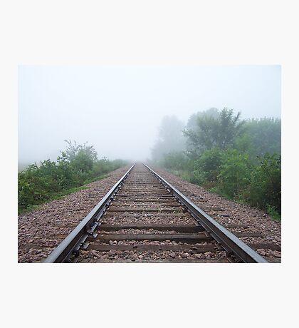 Tracks to Nowhere Photographic Print