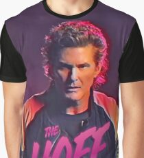 Camiseta gráfica The Hoff - David Hasselhoff Retro Allover Patten