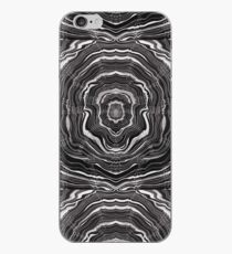 Abstract Woodcut iPhone Case