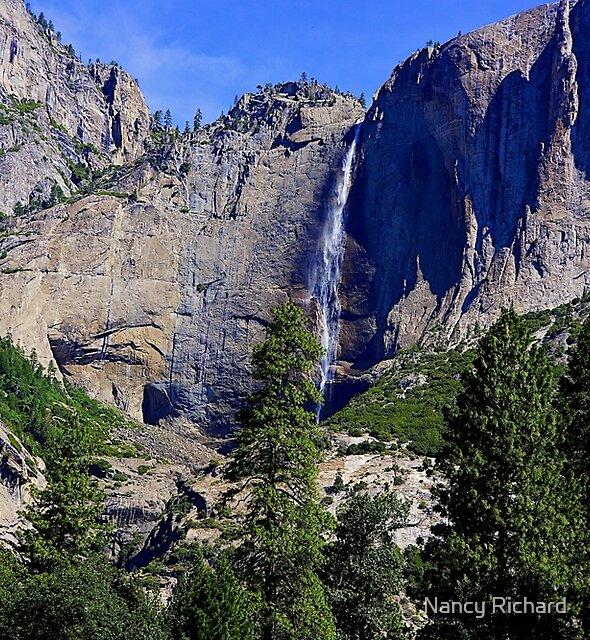 Upper Yosemite Falls by Nancy Richard