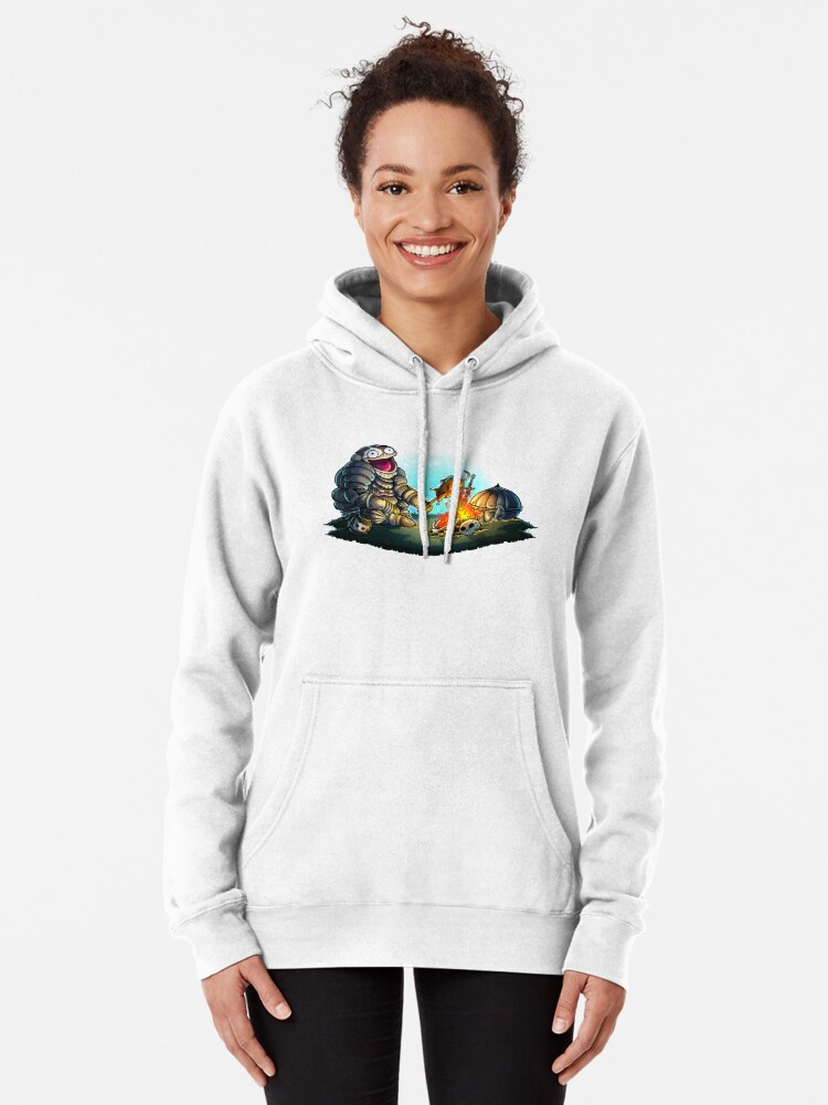 Alternate view of GoEaSyTwitch Fight By Your Side Pullover Hoodie