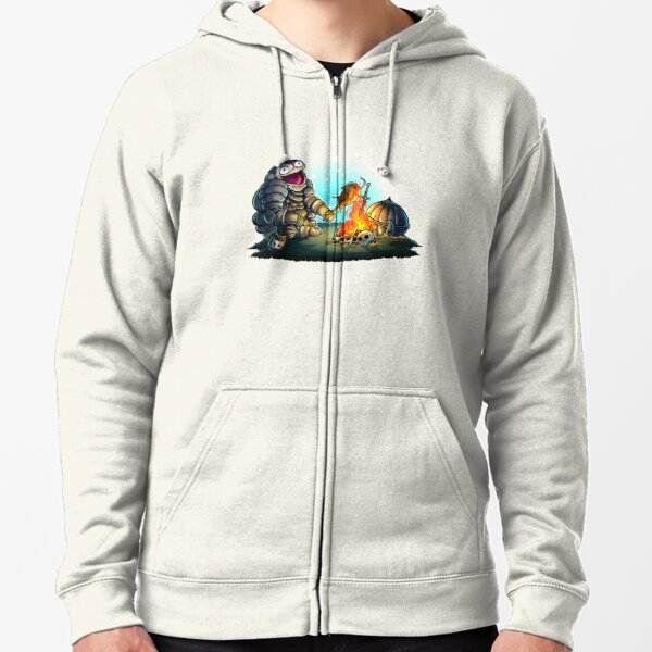 GoEaSyTwitch Fight By Your Side Zipped Hoodie