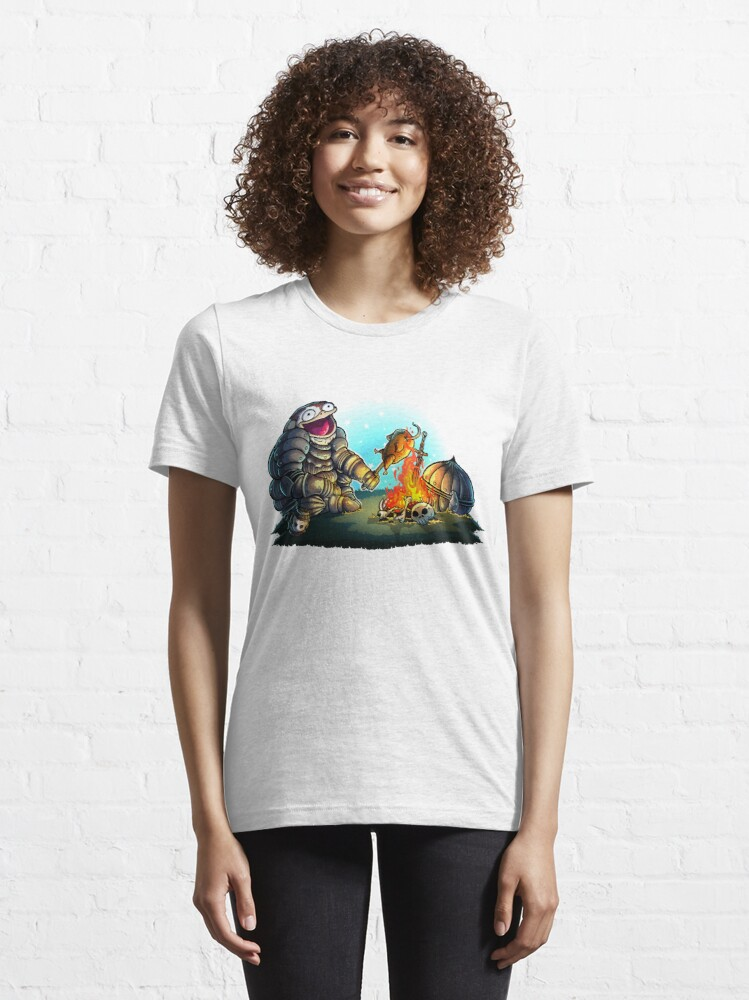 Alternate view of GoEaSyTwitch Fight By Your Side Essential T-Shirt