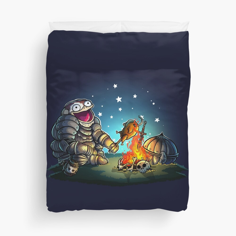 GoEaSyTwitch Fight By Your Side Duvet Cover