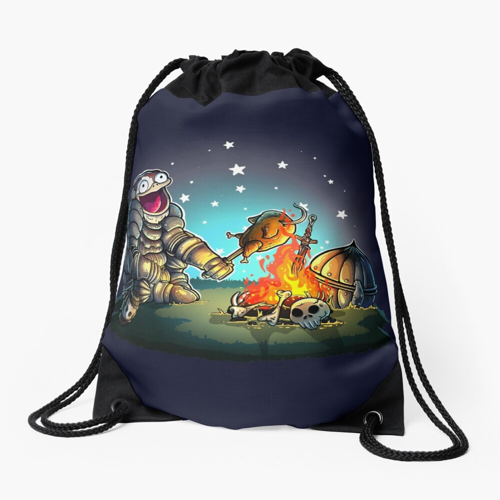 GoEaSyTwitch Fight By Your Side Drawstring Bag