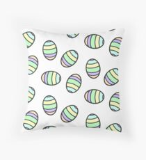 Easter egg pattern design.  Throw Pillow