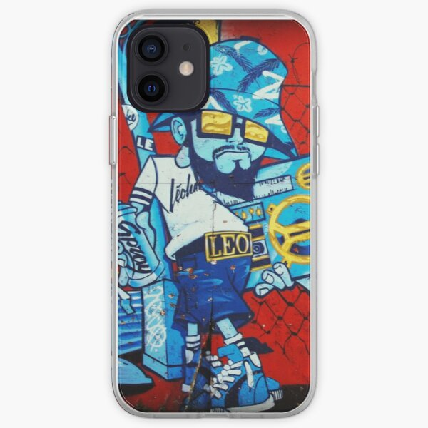 Old School Graffiti 80's Style B-Boy iPhone Soft Case