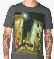 Night Alleyway Men's Premium T-Shirt