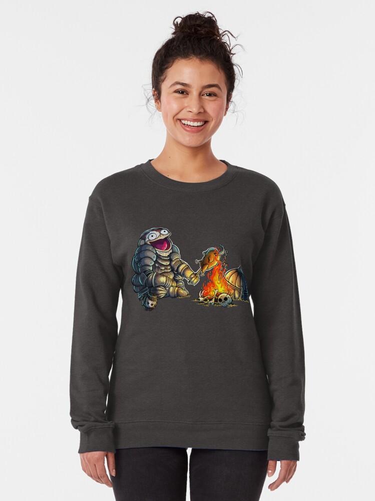 Alternate view of GoEaSyTwitch DpsOClock Pullover Sweatshirt