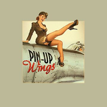 Pin-up Wings WWII Vintage by joseluizleite