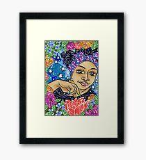 Sister Garden Framed Print