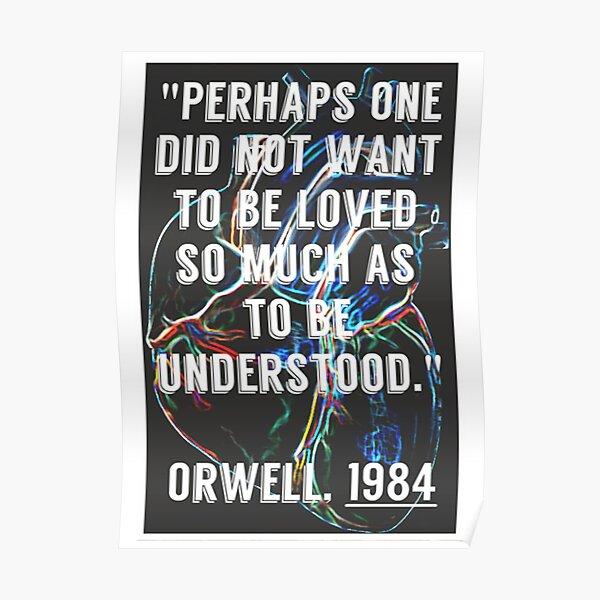 1984 Love Poster