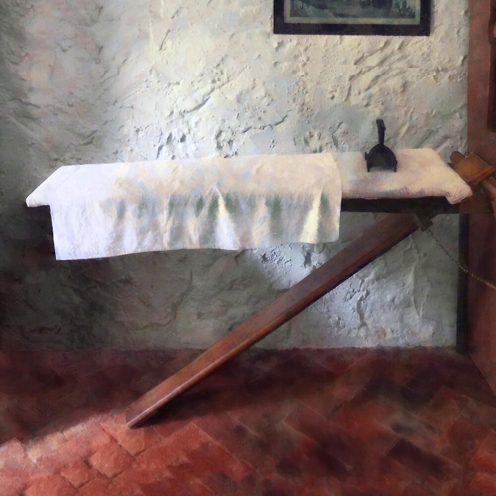 Iron Board and Iron by Susan Savad