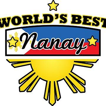 Filipino Design | World's Best Nanay by OhBoyLoveIt