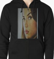 the Look Zipped Hoodie