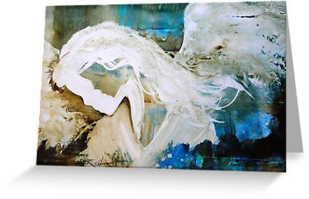 EN1010 Angel Painting by ReneaL