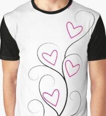 Hearts Rising Graphic T-Shirt