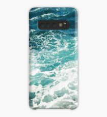 Blue Ocean Waves  Case/Skin for Samsung Galaxy