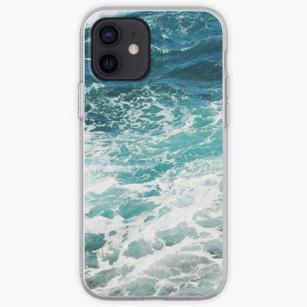 Blue Ocean Waves  iPhone Soft Case
