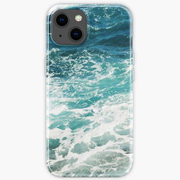 Blue Ocean Waves  iPhone Soft Case